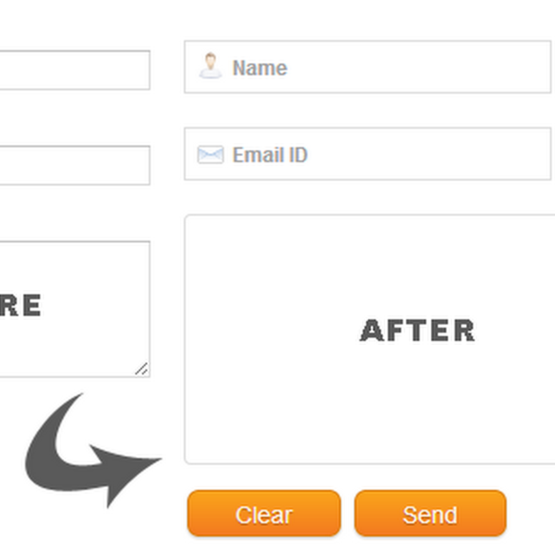 Create a Custom Contact Form For Blogger - Part 2