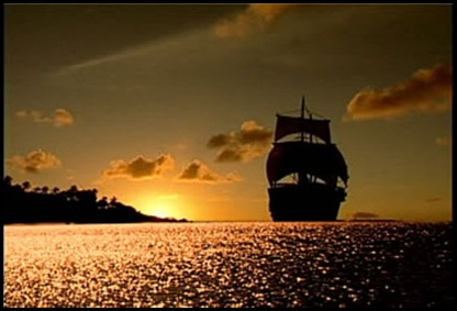 un velero bergantin