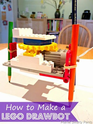 How to make a Lego Robot that can draw #lego #homeschool #education #scienceisfun