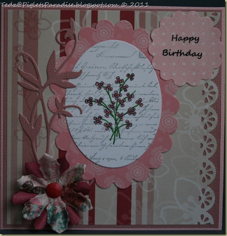 Birthday in Pink