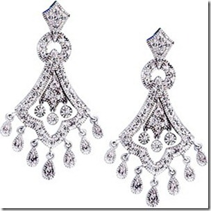 party wear earrings design
