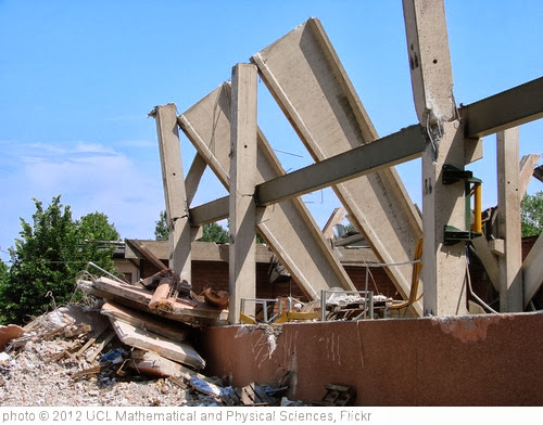 'Earthquake damage in Massa Finalese' photo (c) 2012, UCL Mathematical and Physical Sciences - license: http://creativecommons.org/licenses/by/2.0/