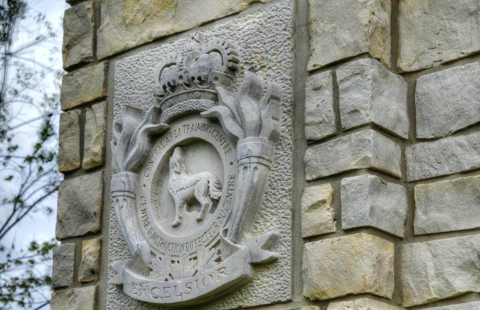 Limestone carvings and engravings