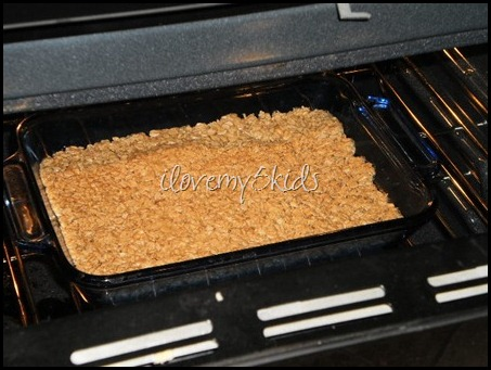 Baking Oatmeal Crust