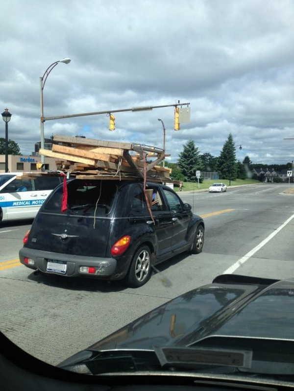 Um veículo diferente poderia ter funcionado melhor 14
