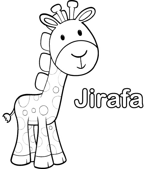 PINTAR JIRAFAS BEBE