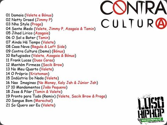 Mixtape Contra Cultura Back