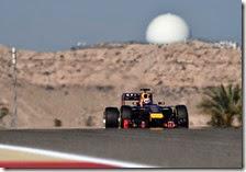 Ricciardo nei test in Bahrain 2014
