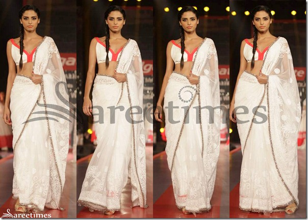 Manish_Malhotra_White_Saree