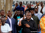 – L'UDPS rendant hommage le 13/09/2010 à Kinshasa,  à  deux de  ses militants tués lors d'une protestation dispersée par la police. Radio Okapi/ Ph. John Bompengo