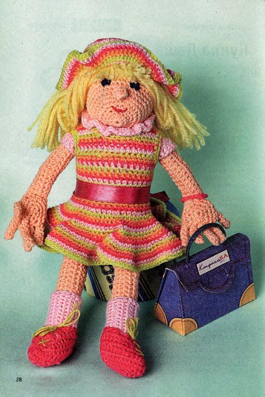 Вязание крючком своими руками куклы 37
