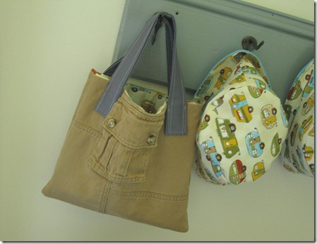 tote bag from cargo pants (13)