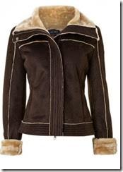 Armani Jeans Faux Shearling Jacket