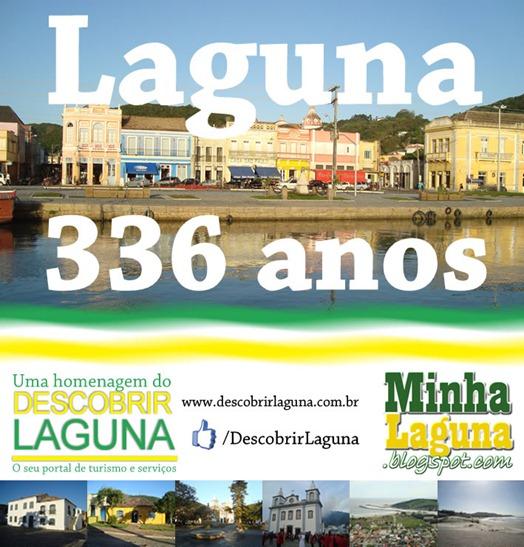 Laguna 336 anos de fundação