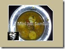 70 - Mini Idli Sambar