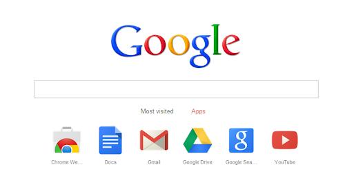 Google Chrome - barra di ricerca nella nuova tab