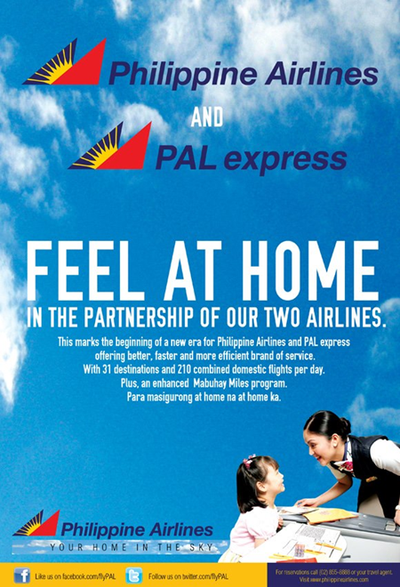 Airphil Express rebrands as PAL Express
