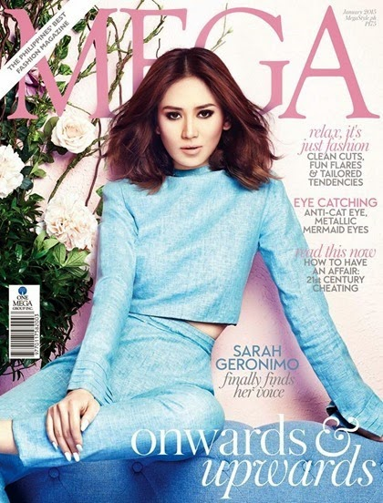 Sarah Geronimo - Mega Jan 2015