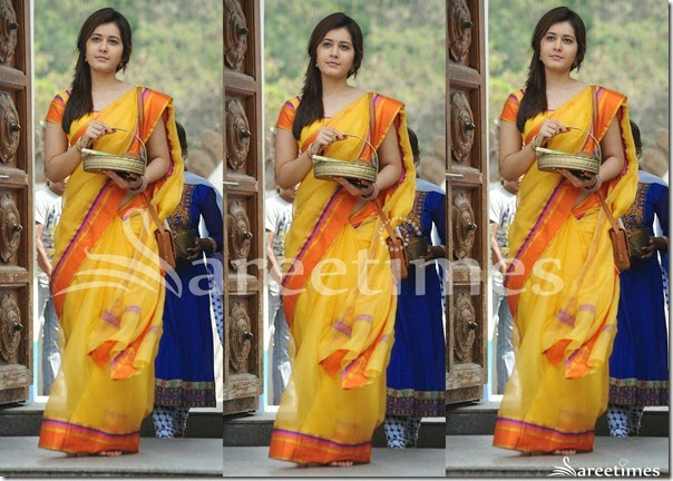 Yellow_Silk_Saree