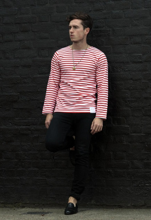 Striped Russian Sailor Top, £25, Peace Corps