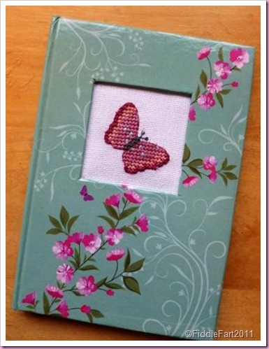 crossstitch notebook