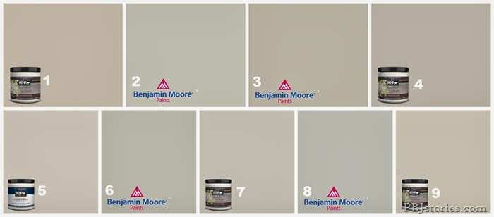 Mineral Deposit Paint Cabinets