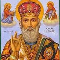 San Nicolás de Bari (lo conocemos como Santa Claus
