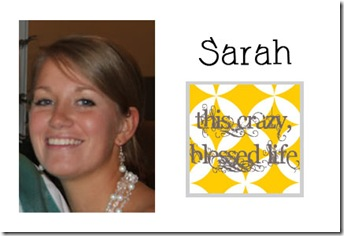Sarah - This Crazy Blessed Life