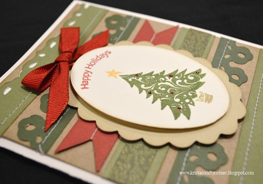 Christmas gift_director_handmade card_close up_2012