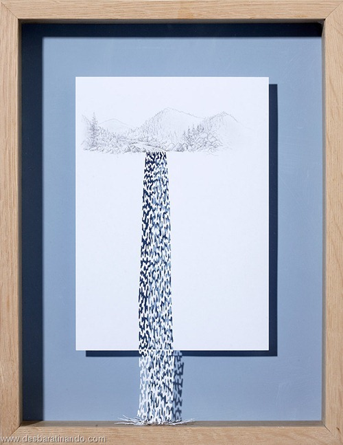 obras de arte em papel 3D origami Peter Callesen desbaratinando (48)