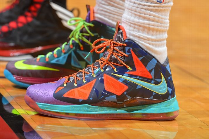 King James Switches out of the Nike LeBron X 8220What the MVP8221 ...