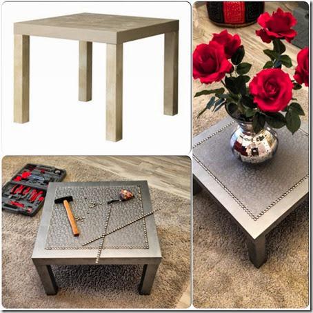Metamorfozy ikea stolik lack - Customiser une table basse ...