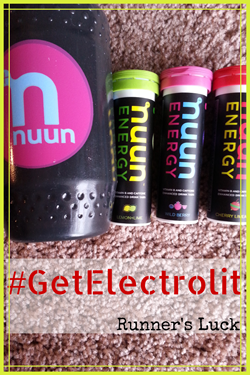 #GetElectrolit with Nuun