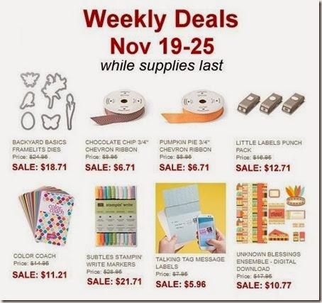 weekly deals nov 19-25