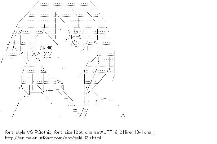 Saki,Miyanaga Teru