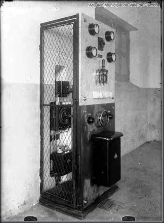 Quadro eléctrico da fábrica