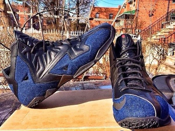 First Look at Nike Sportswear LeBron 11 EXT Denim
