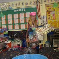 Preschoolers Enjoying Silly Sally! 2.29.12