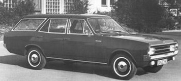Opel Rekord break 1971