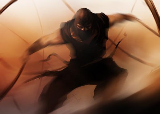 Ninja_by_bumhand