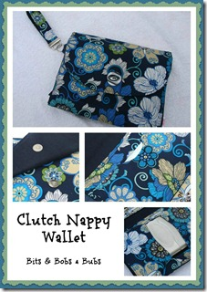 BB Flower Clutch Collage