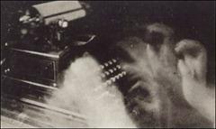 Anton Giulio & Arturo Bragaglia - Typist - (Dattilografa) 1911