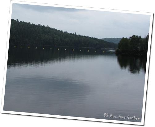 Lac Taureau - barrage - en amont