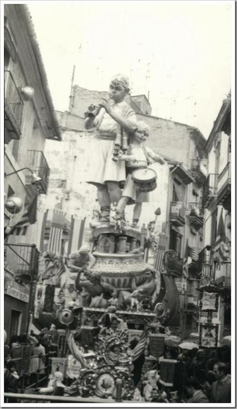 Valencia en fallas 1975 falla na jordana