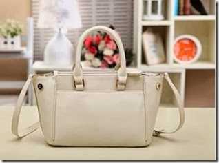 U3728 White (209.000) - PU Leather, 26 x 21 x 11