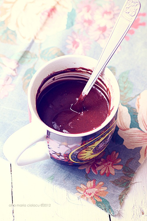 Chocolate mug cake 3