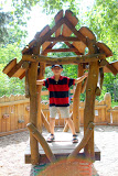 Kai at the Vysehrad playground
