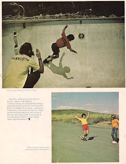 Vol 2 No.1 Bruce's 2nd Who's Hot page in Skateboarder Magazine