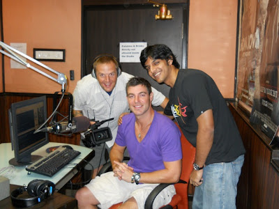 In the Indigo studio with Sriram, Josh and Jeff