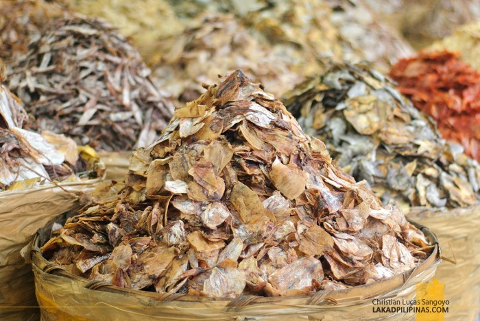 Dried Seafood by the Barrels at Cebu's Taboan Public Market